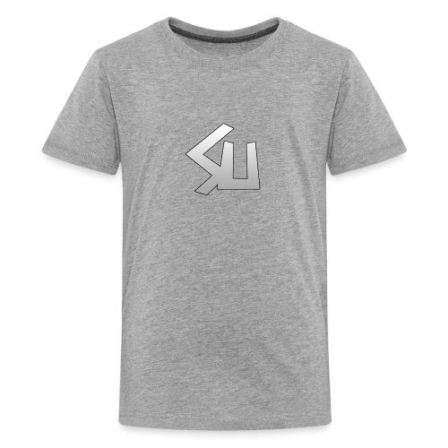 Plain SU logo - Teenage Premium T-Shirt