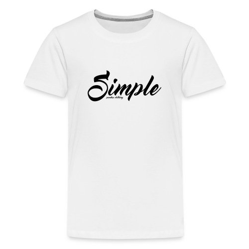Simple: Clothing Design - Teenage Premium T-Shirt