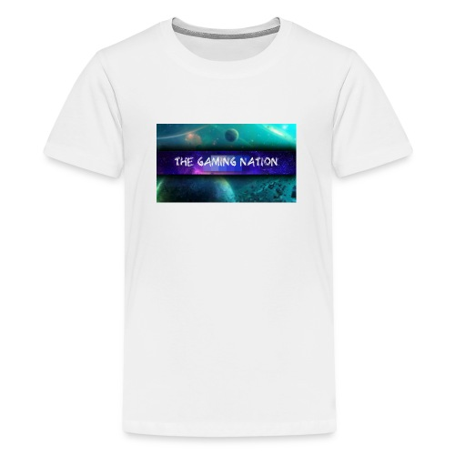freash basball cap - Teenage Premium T-Shirt