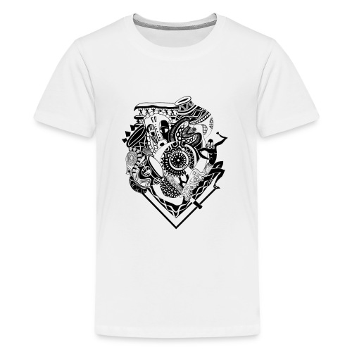 afrocentrique - Teenage Premium T-Shirt