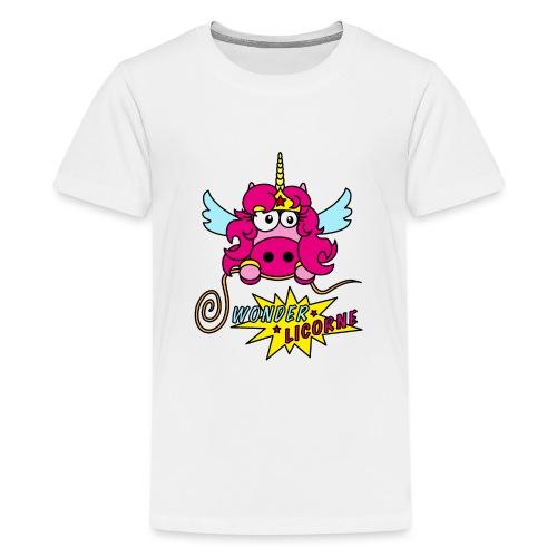 Licorne WT - T-shirt Premium Ado