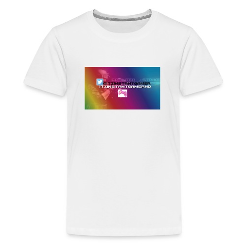 CHANNEL ART jpg - Teenage Premium T-Shirt