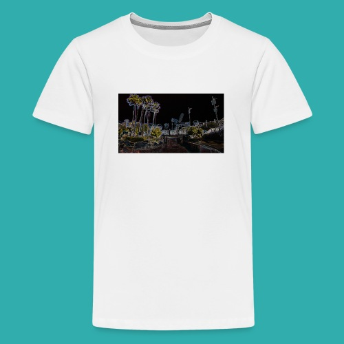 resort.jpg - Teenage Premium T-Shirt