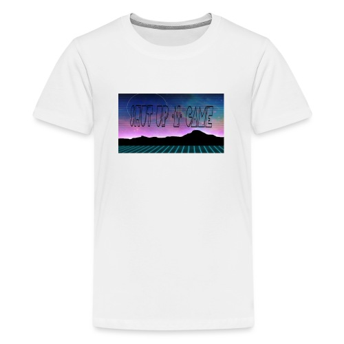 Shut up-N- Game - Teenage Premium T-Shirt
