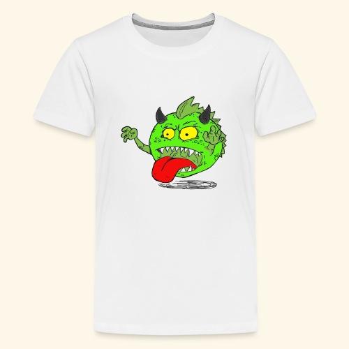 Monster Elkan - Teenager premium T-shirt