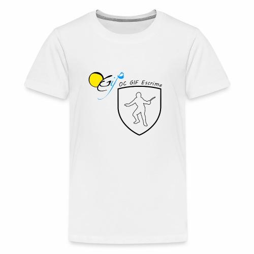 OC Gif Escrime - T-shirt Premium Ado