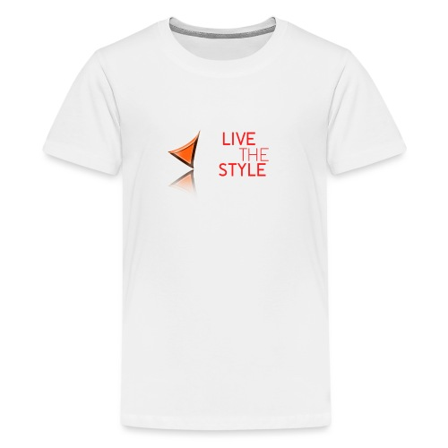 Live The Style - Teenage Premium T-Shirt