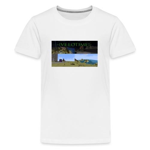 Velotime! - Premium-T-shirt tonåring