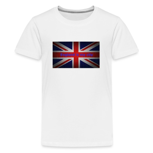 England is my city t shirt - Teenager Premium T-shirt