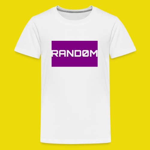 Random Logo - Teenage Premium T-Shirt