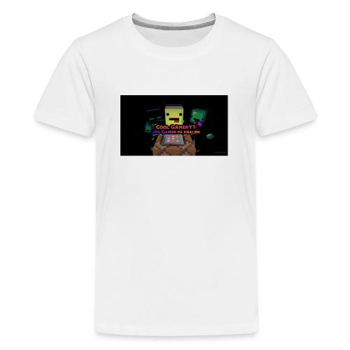 Cool Gamer yt - Premium T-skjorte for tenåringer