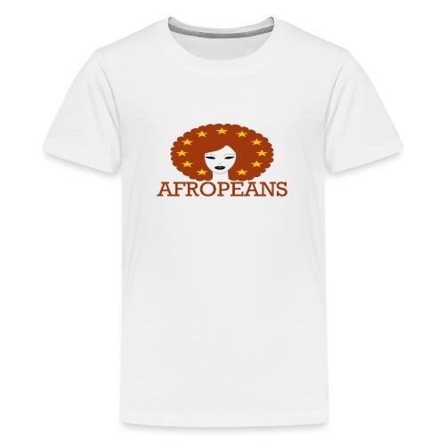 Afropeans Terracota - Teenager Premium T-shirt