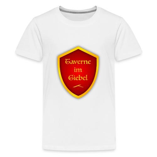 Taverne im Giebel Logo - Teenager Premium T-Shirt