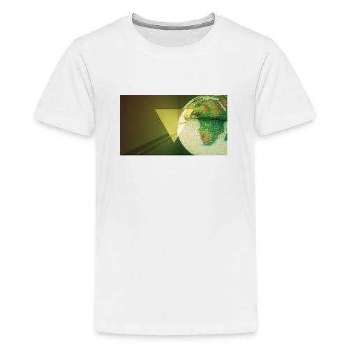 BIOMETRIC GLOBE - Teenage Premium T-Shirt