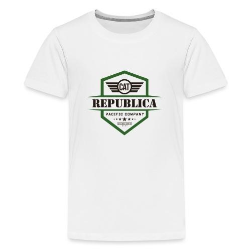 REPUBLICA CATALANA color - Camiseta premium adolescente