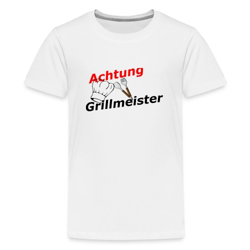 Grillmeister - Teenager Premium T-Shirt