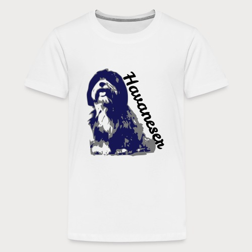 havaneser - Teenager Premium T-Shirt