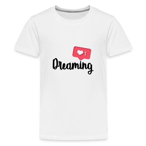 Amo sognare e tu? - Maglietta Premium per ragazzi
