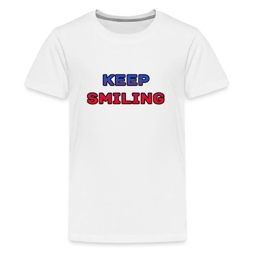 NEW keep smiling Mrspidey - Teenage Premium T-Shirt