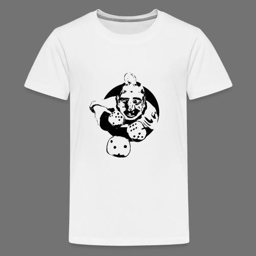Professional Gambler (1c musta) - Teinien premium t-paita