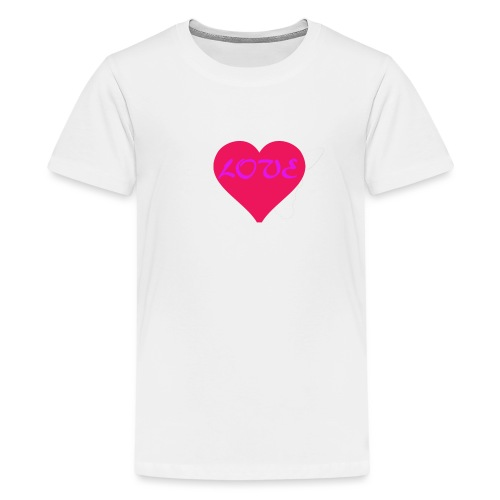 LOVE - T-shirt Premium Ado