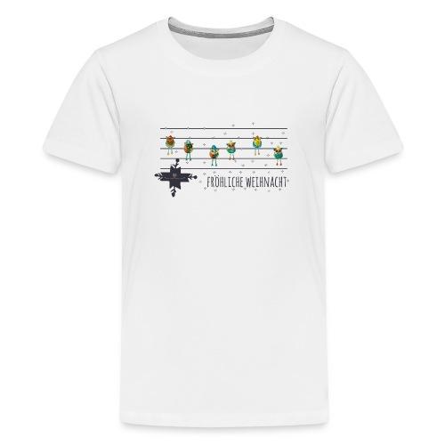 Fröhliche Weihnacht - Teenager Premium T-Shirt