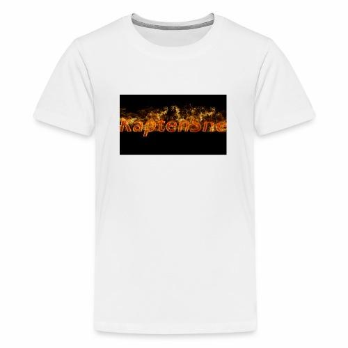 KaptenSne Burning - Premium-T-shirt tonåring