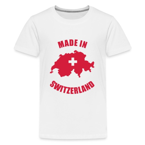Made in Switzerland - Teenager Premium T-Shirt