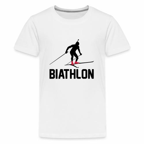 Biathlon - Teenager Premium T-Shirt