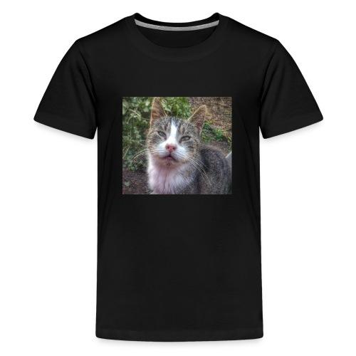 Katze Max - Teenager Premium T-Shirt