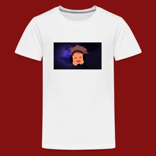 ProfilBild RymdBakgrund - Premium-T-shirt tonåring