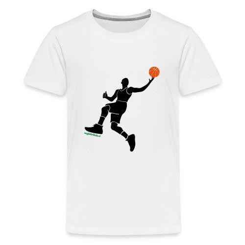 slamdunk_ball - Maglietta Premium per ragazzi