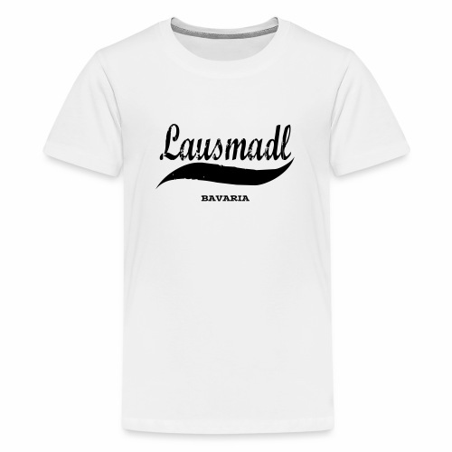 LAUSMADL BAVARIA - Teenager Premium T-Shirt