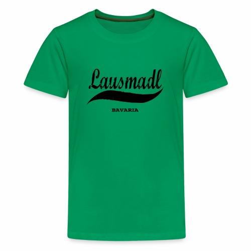 LAUSMADL BAVARIA - Teenager Premium T-Shirt