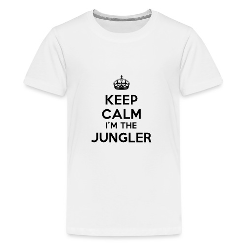 Keep calm I'm the Jungler - T-shirt Premium Ado
