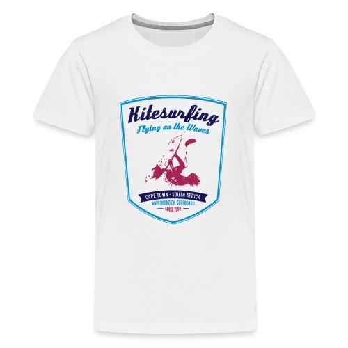 KITESURFING CAPE TOWN - Maglietta Premium per ragazzi