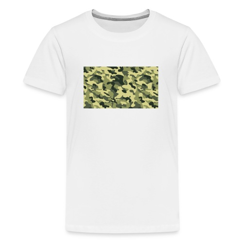 camouflage slippers - Teenager Premium T-shirt