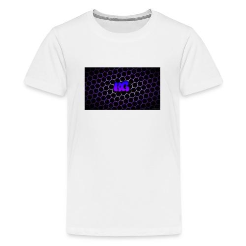 Purple Koala Gaming jpg - Teenage Premium T-Shirt