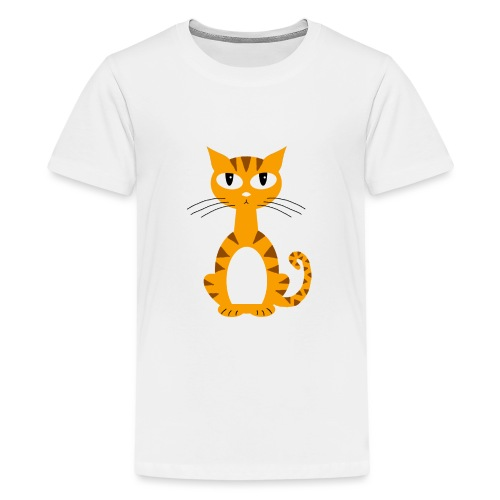 Ginger Puss - Teenage Premium T-Shirt