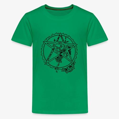 Flowergram - Teenage Premium T-Shirt
