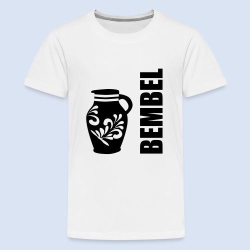 Frankfurter Bembel - Hessen - Teenager Premium T-Shirt