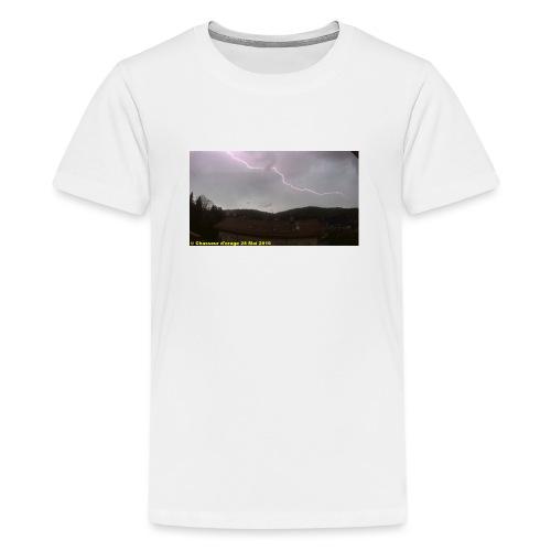 6é photo de l orage du 28 mai 2016 JPG - T-shirt Premium Ado