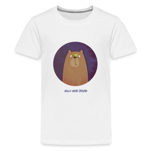 Hallo mein Freund Longsleeve - Teenager Premium T-Shirt