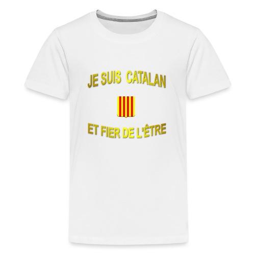 Dessous de verre à l'emblème du PAYS CATALAN - T-shirt Premium Ado