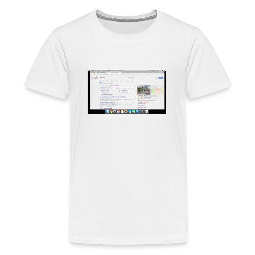 Sk rmbillede 2017 11 03 kl 19 37 54 - Teenager premium T-shirt