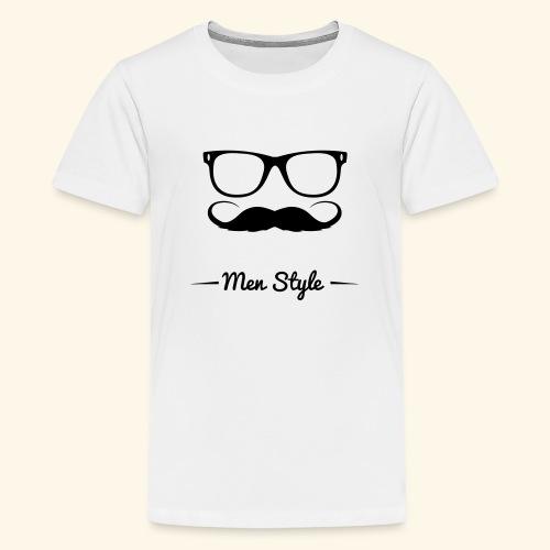 Men Style - Maglietta Premium per ragazzi