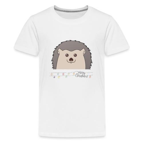 Hed wünscht Merry Christmas - Teenager Premium T-Shirt