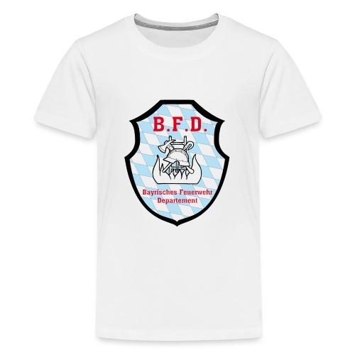 Inoffizielles bayrisches Feuerwehrabzeichen - Teenager Premium T-Shirt