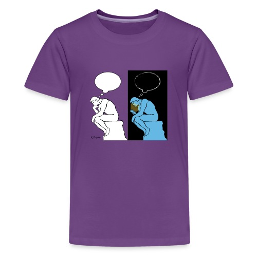 The Thinker - Teenage Premium T-Shirt