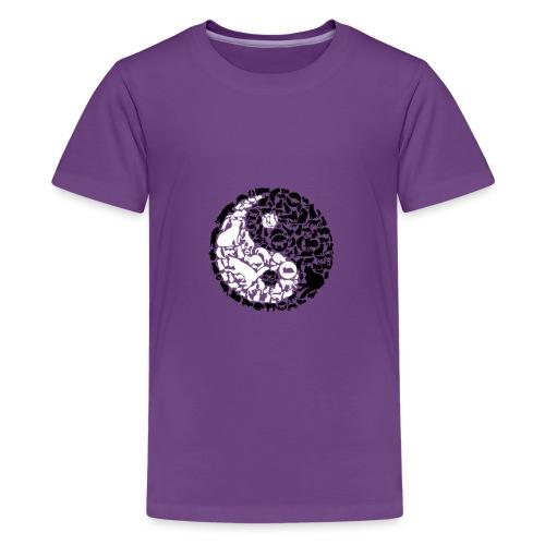 YinYang Cats - Teenager Premium T-Shirt